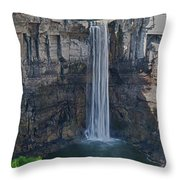 Taughannock Falls  0453 Throw Pillow