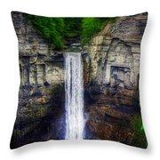Taughannock Falls Ulysses Ny Throw Pillow