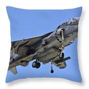 Tav 8b Harrier Jump Jet Throw Pillow