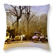 Tavern On The Green Throw Pillow