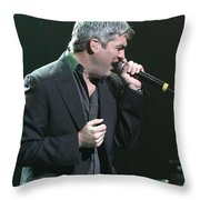 Taylor Hicks Throw Pillow