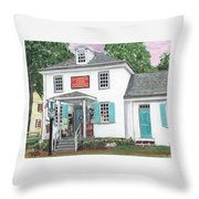 Taylorsville Store Throw Pillow