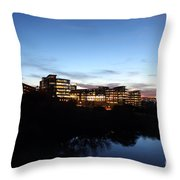 Tcc Trinity River Campus Throw Pillow