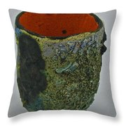 Tea Bowl #1 Throw Pillow