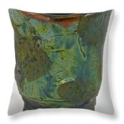 Tea Bowl #10 Throw Pillow