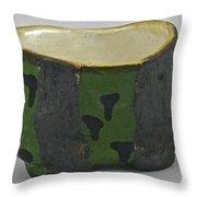 Tea Bowl #13 Throw Pillow