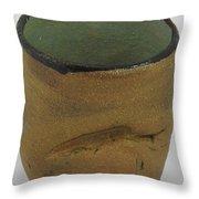 Tea Bowl #18 Throw Pillow