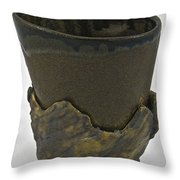 Tea Bowl #19 Throw Pillow