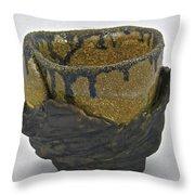 Tea Bowl #21 Throw Pillow