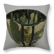 Tea Bowl #3 Throw Pillow