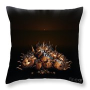 Tea Pot Shrub Throw Pillow