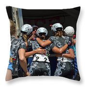 Team Specialized Lululemon Celebrates Throw Pillow