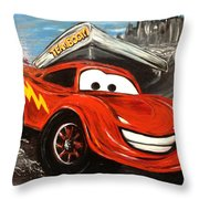 Teamboom Throw Pillow
