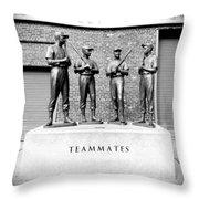 Teammates Throw Pillow