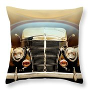 Teardrops And Halos Throw Pillow
