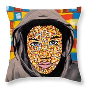 Tears For America Throw Pillow