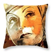 Tears In My Eyes Throw Pillow