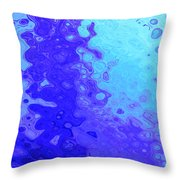Tears Of A Muse Throw Pillow