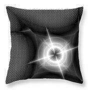 Techno Flash Throw Pillow