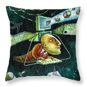 Technology Throw Pillow