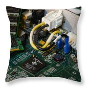 Technology - The Motherboard Throw Pillow