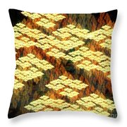 Tectonics Throw Pillow