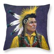 Tecumseh Throw Pillow