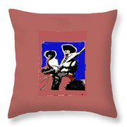 Ted Degrazia On Quest For The Lost Dutchman's Mine Superstition Mountains 1962-2013 Throw Pillow