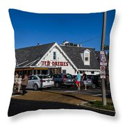 Ted Drewes Throw Pillow