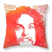 Ted Nugent Cat Scratch Fever Throw Pillow