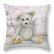 Teddy Friend Throw Pillow