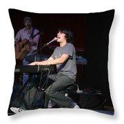 Teddy Geiger Throw Pillow