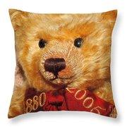 Teddy's Anniversary Throw Pillow