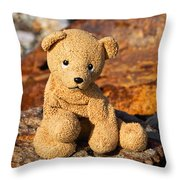 Ted's On The Rust Pile 2 Throw Pillow