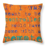 Teen Inspirational 1 Throw Pillow