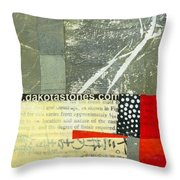 Teeny Tiny Art 119 Throw Pillow