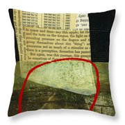 Teeny Tiny Art 125 Throw Pillow