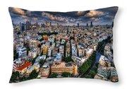 Tel Aviv Lookout Throw Pillow