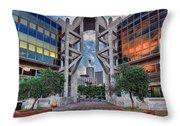 Tel Aviv Performing Arts Center Throw Pillow