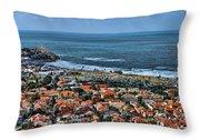 Tel Aviv Spring Time Throw Pillow