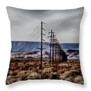 Telegraph Road Throw Pillow