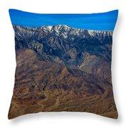 Telescope Peak Throw Pillow