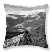 Telluride Backcountry Throw Pillow