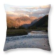 Telluride Evening Throw Pillow