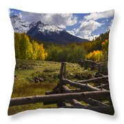 Teluride Throw Pillow