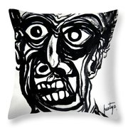 Temperiment Throw Pillow