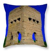 Temple Janus France Throw Pillow