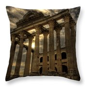 Temple Of Diana Throw Pillow