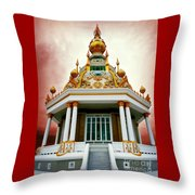 Temple Of Dramatic Art Throw Pillow