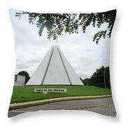 Temple Of Good Will Throw Pillow